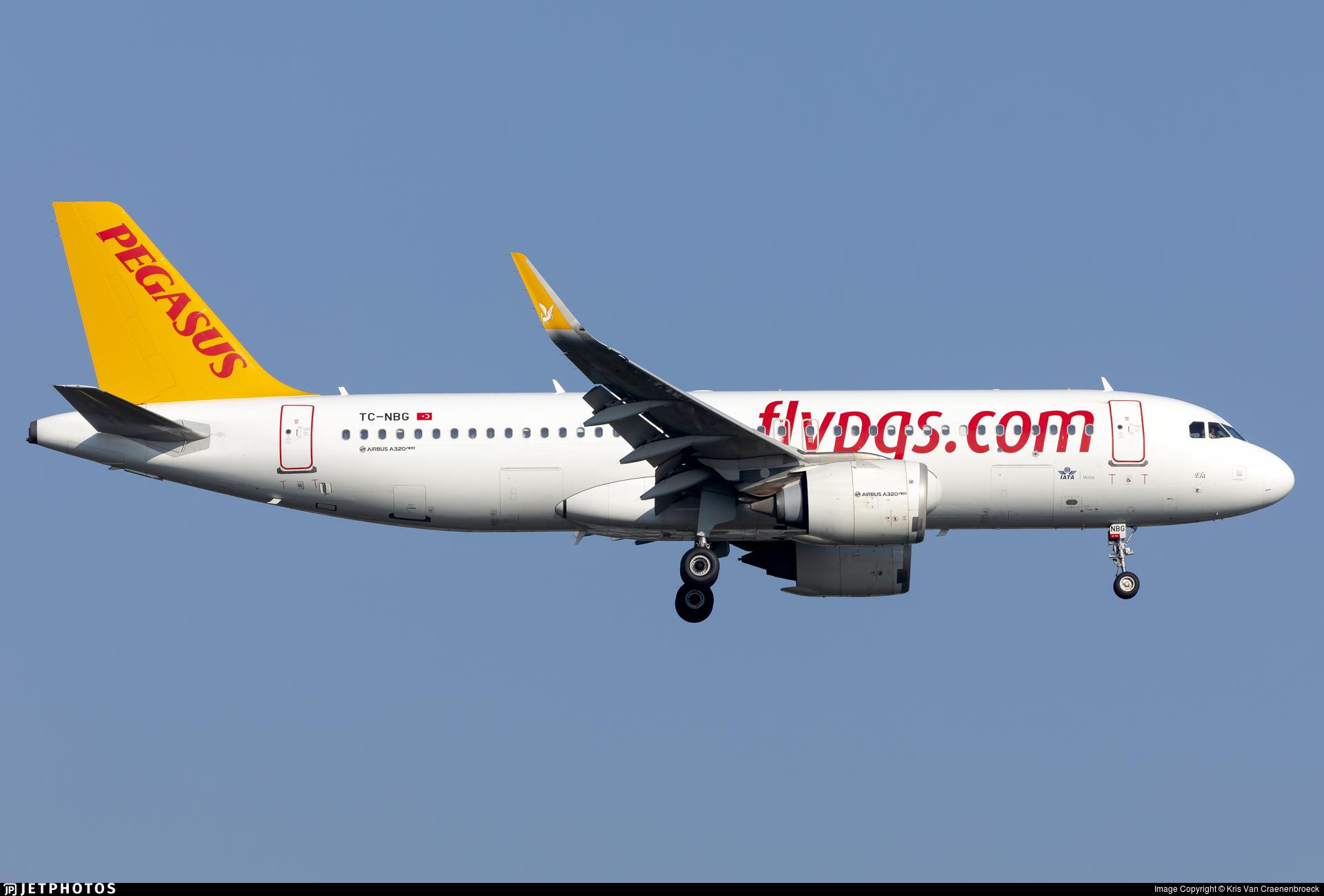 TC-NBG - Airbus A320-251N - Pegasus Airlines