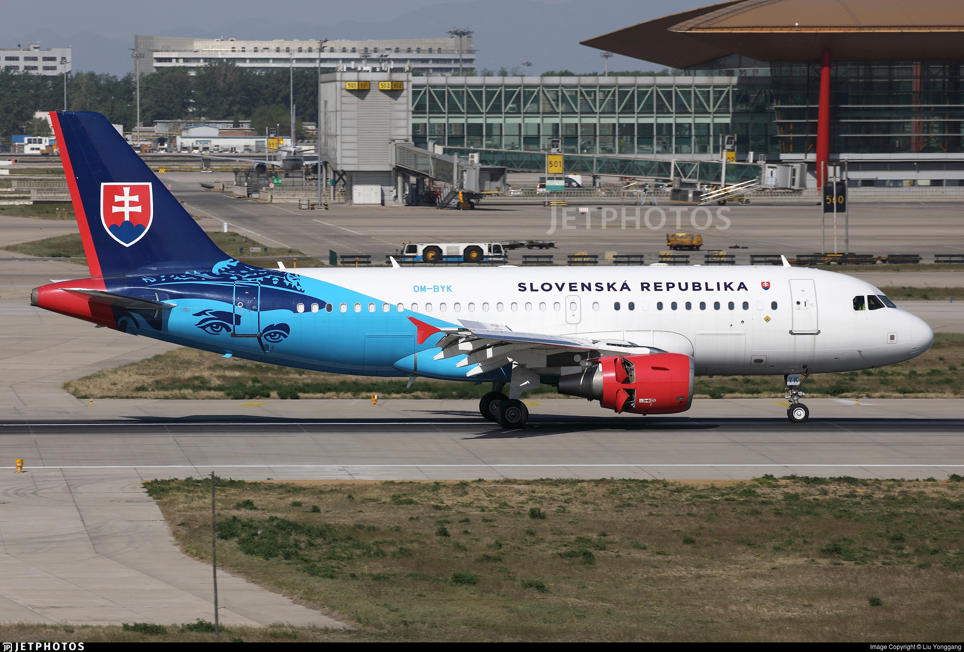 OM-BYK - Airbus A319-115X(CJ) - Slovakia - Government Flying Service