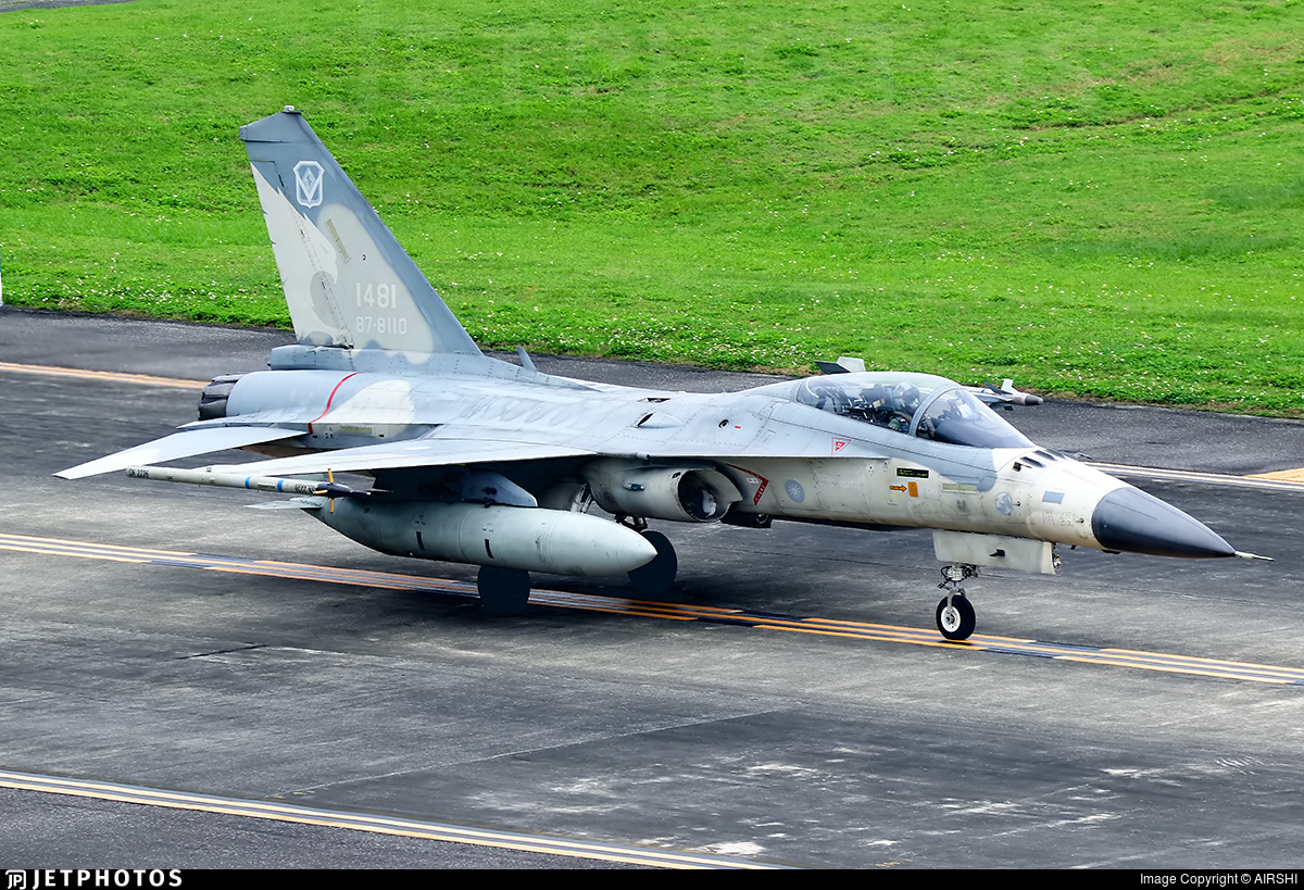 1481 - AIDC F-CK-1C Ching Kuo - Taiwan - Air Force