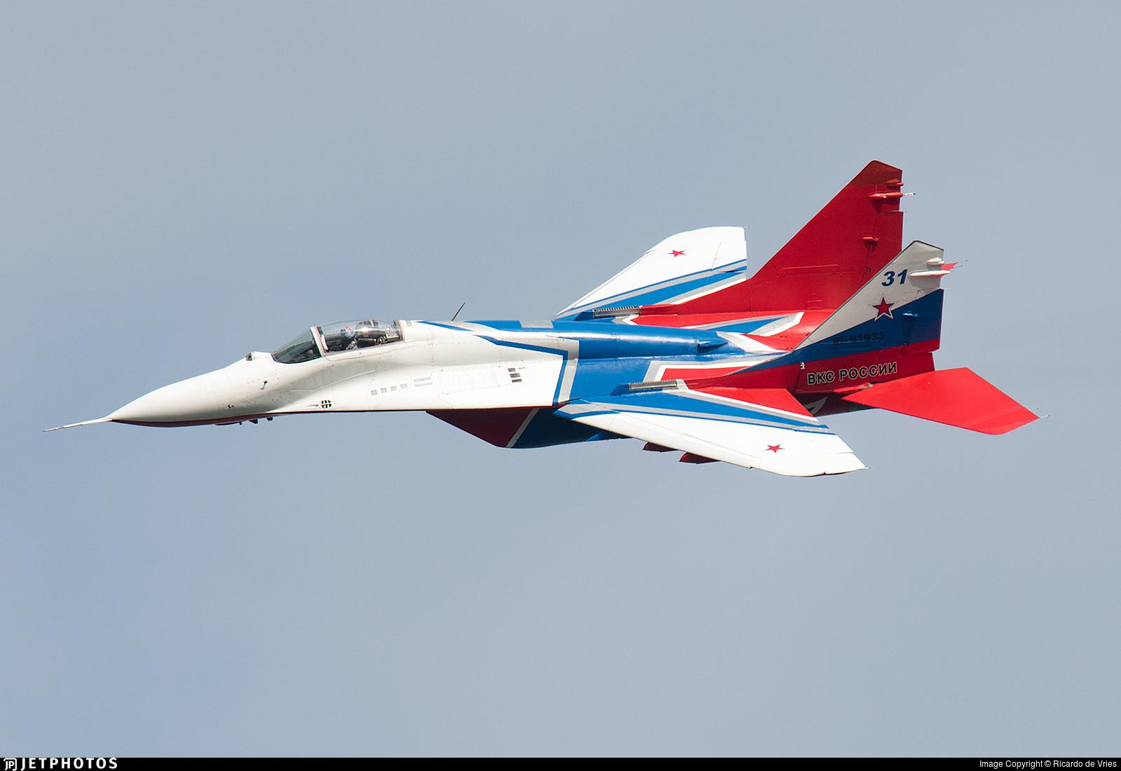 RF-91933 - Mikoyan-Gurevich MiG-29S Fulcrum C - Russia - Air Force