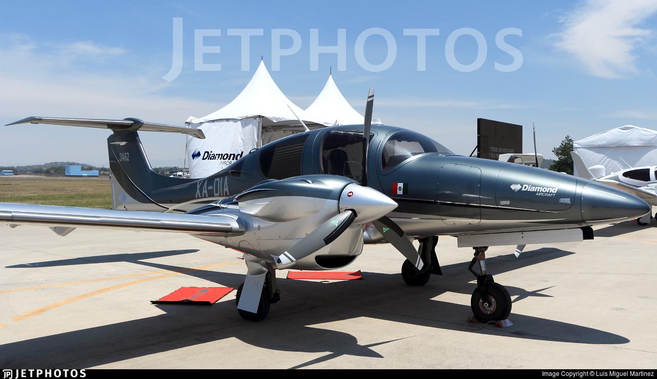 XA-DIA - Diamond Aircraft DA-62 - Diamond Aircraft Industries