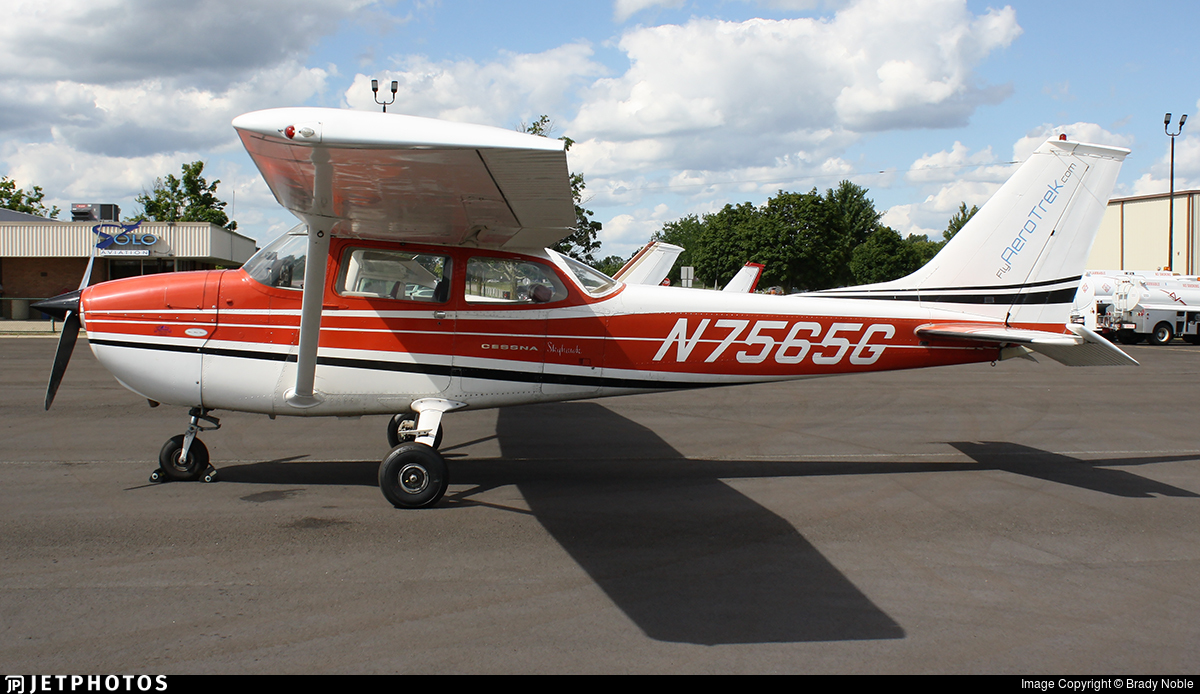 N7565G - Cessna 172L Skyhawk - AeroTrek Flight Academy