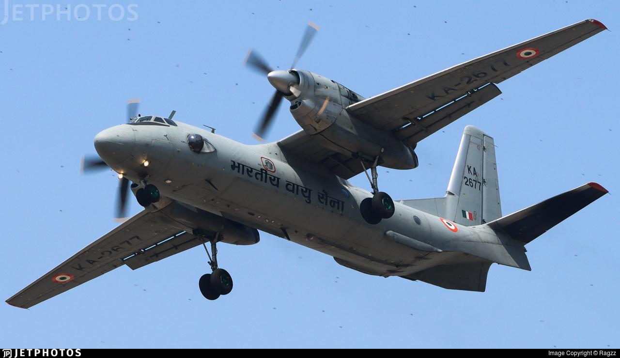 KA2677 - Antonov An-32RE - India - Air Force