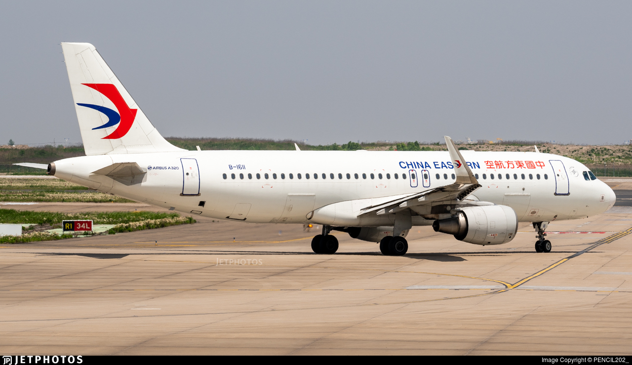 B-1611 - Airbus A320-214 - China Eastern Airlines