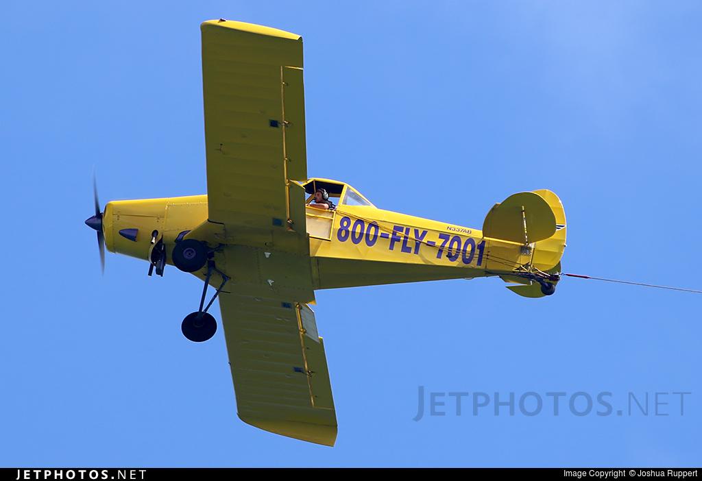 N337AB - Piper PA-25 Pawnee - Private