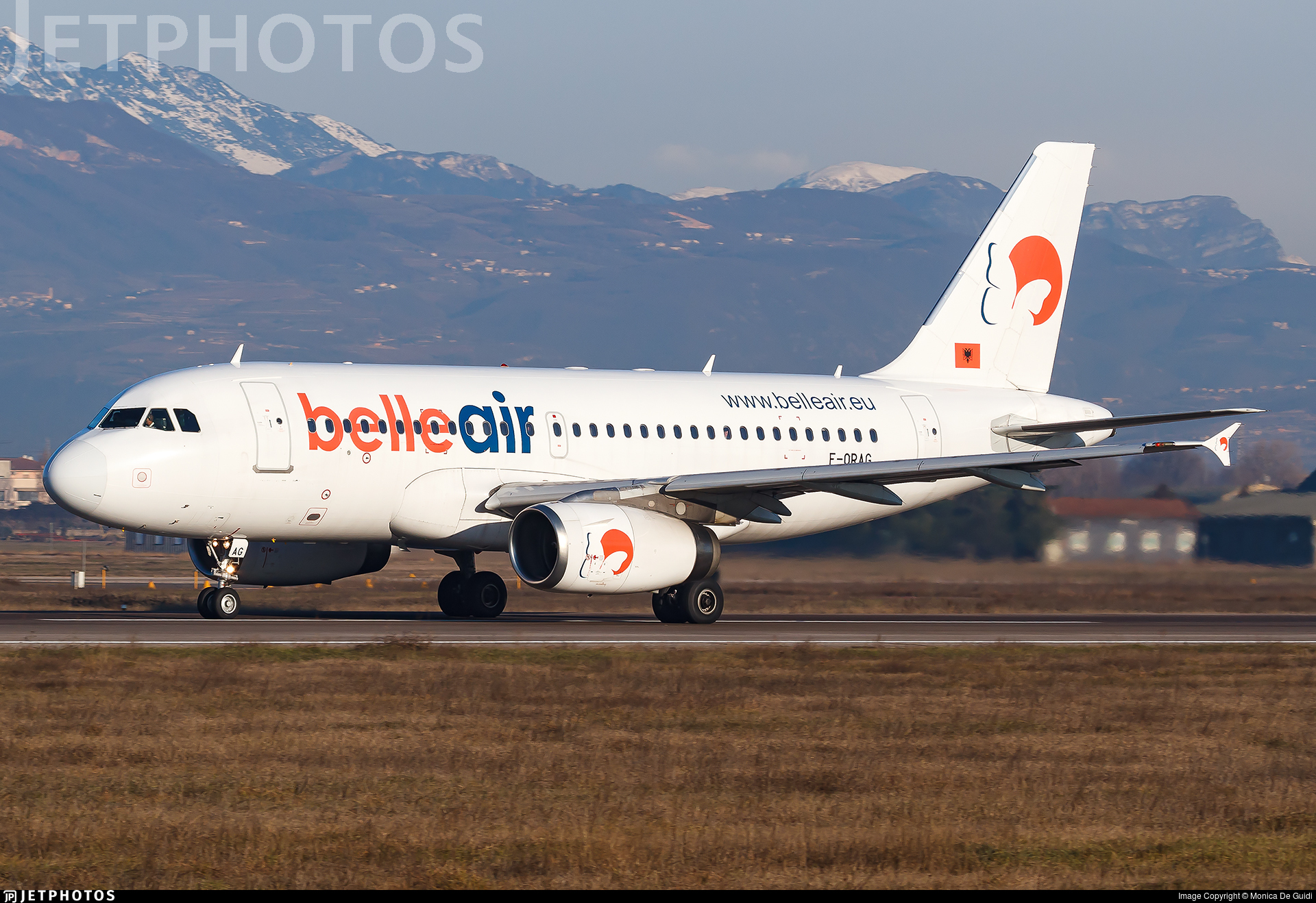 F-ORAG - Airbus A319-132 - Belle Air