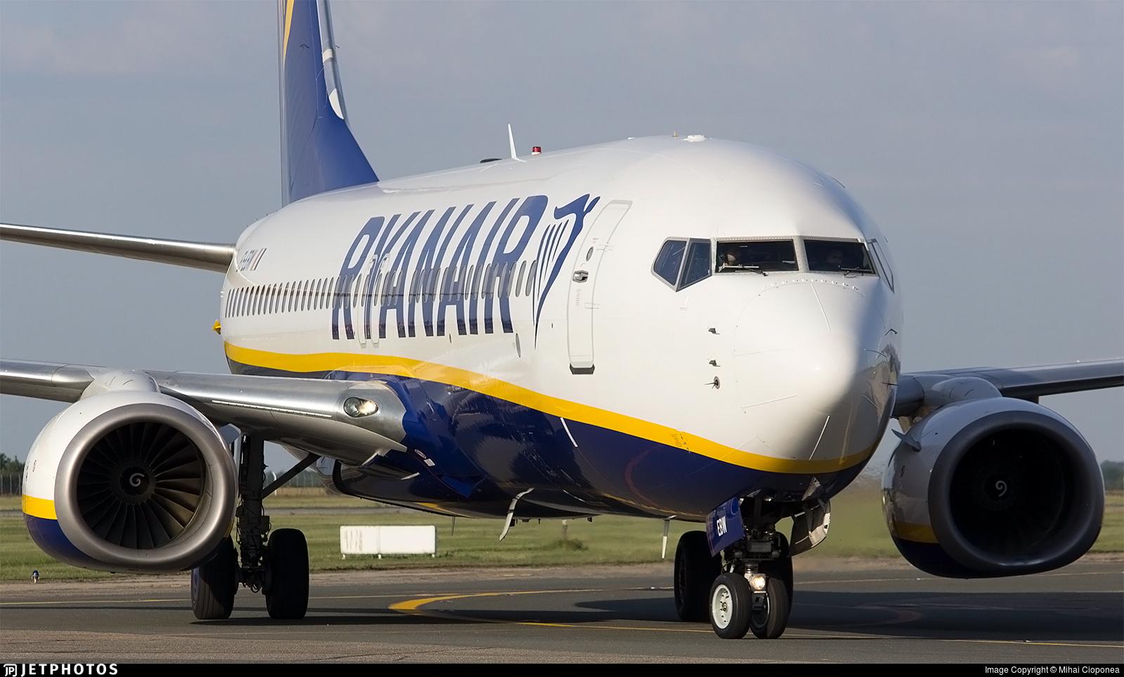 EI-EBW - Boeing 737-8AS - Ryanair