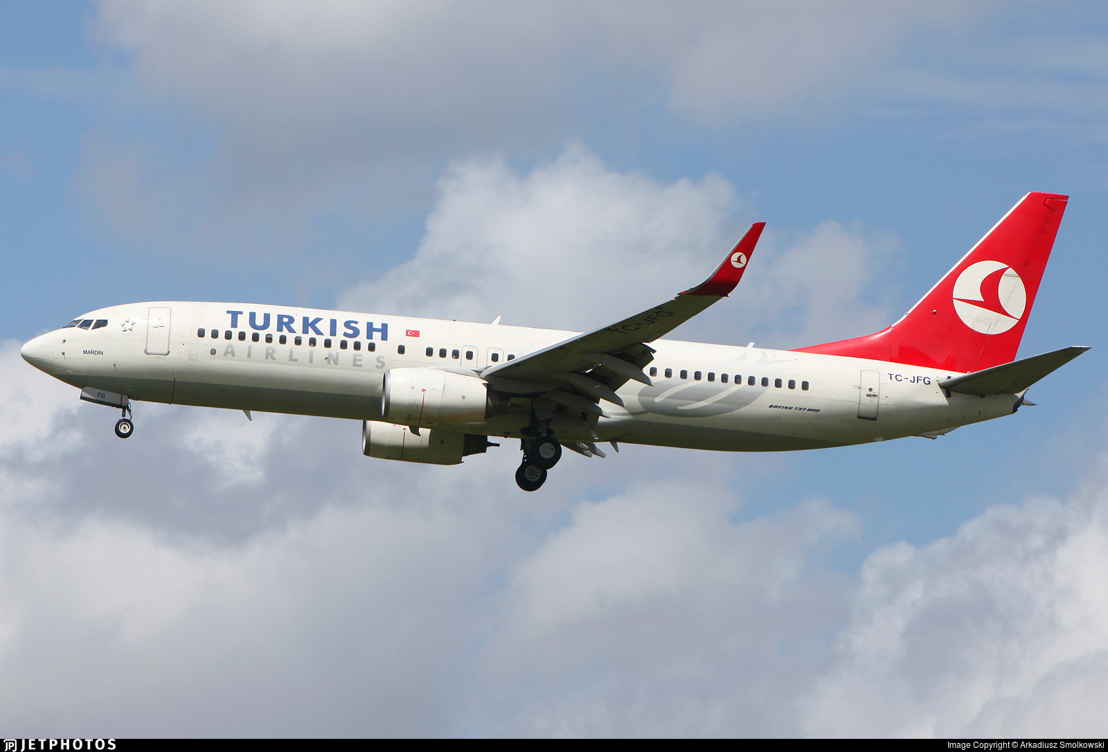 TC-JFG - Boeing 737-8F2 - Turkish Airlines