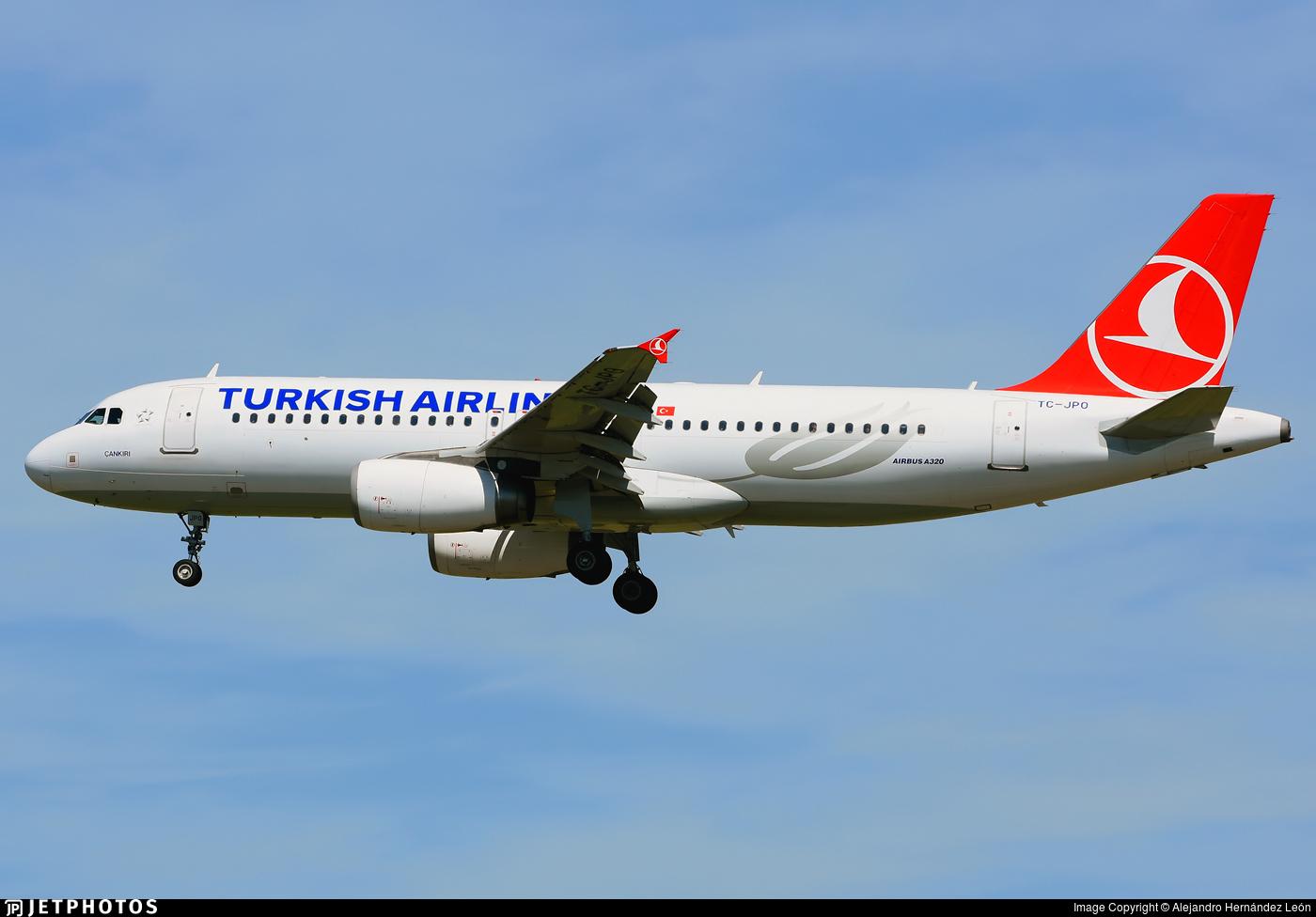 TC-JPO - Airbus A320-232 - Turkish Airlines