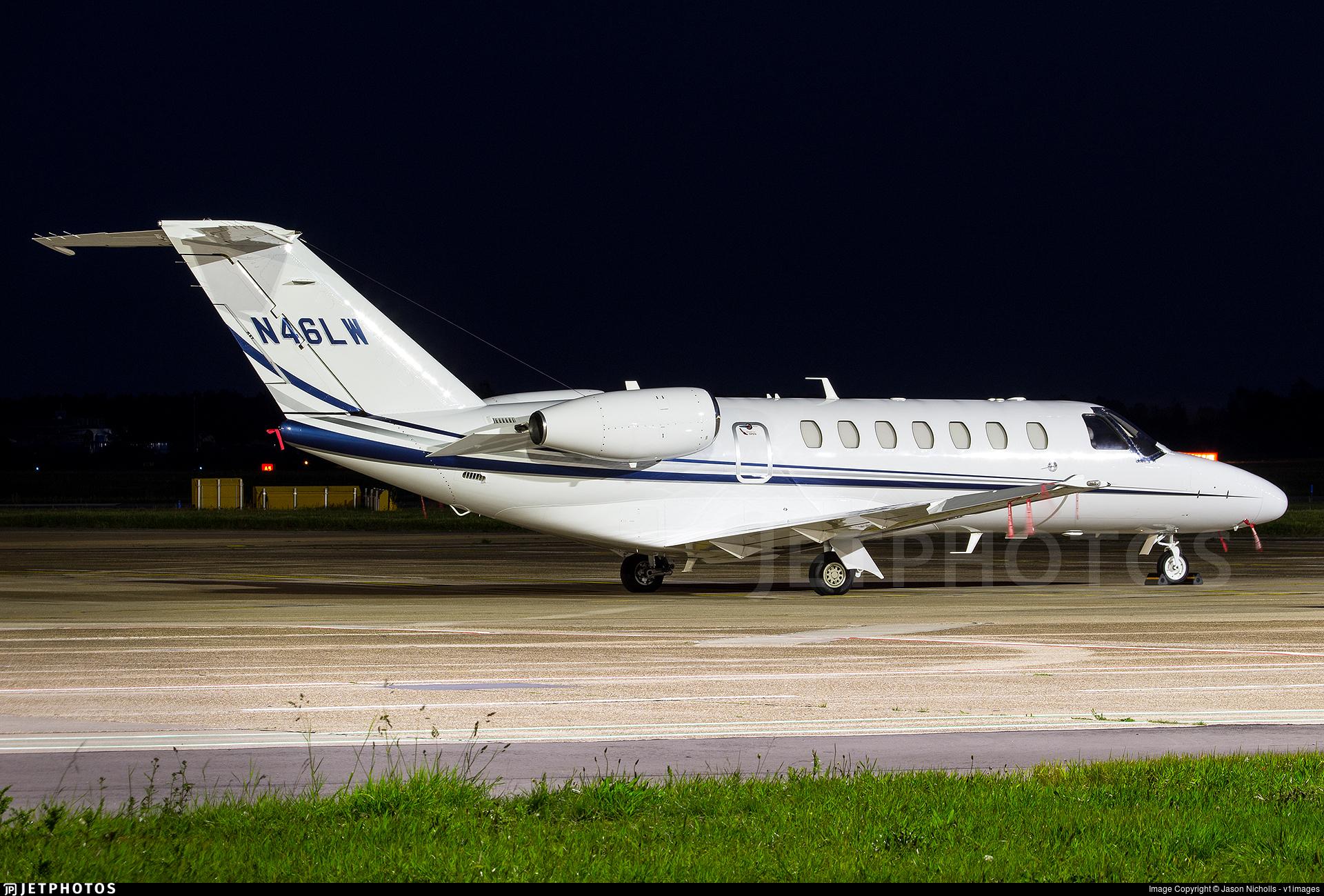 N46LW - Cessna 525 Citation CJ3 - Private