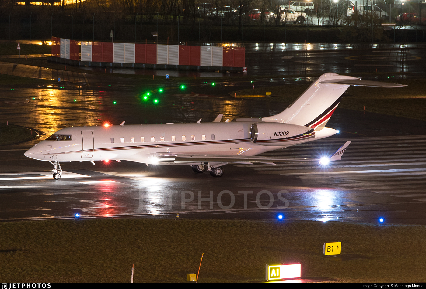 N112QS - Bombardier BD-700-1A11 Global 5000 - NetJets Aviation