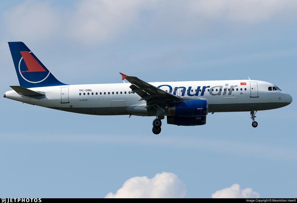 TC-OBL - Airbus A320-232 - Onur Air