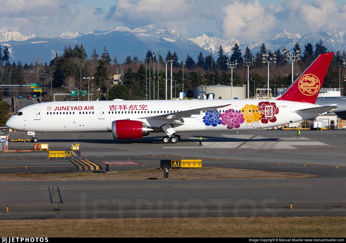 B-209R - Boeing 787-9 Dreamliner - Juneyao Airlines
