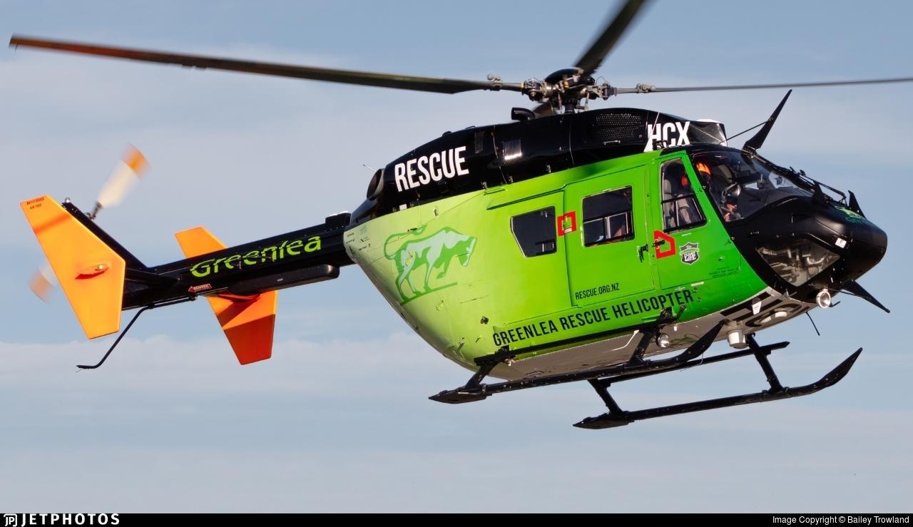 ZK-HCX - MBB BK117B-2 - Phillips Search & Rescue