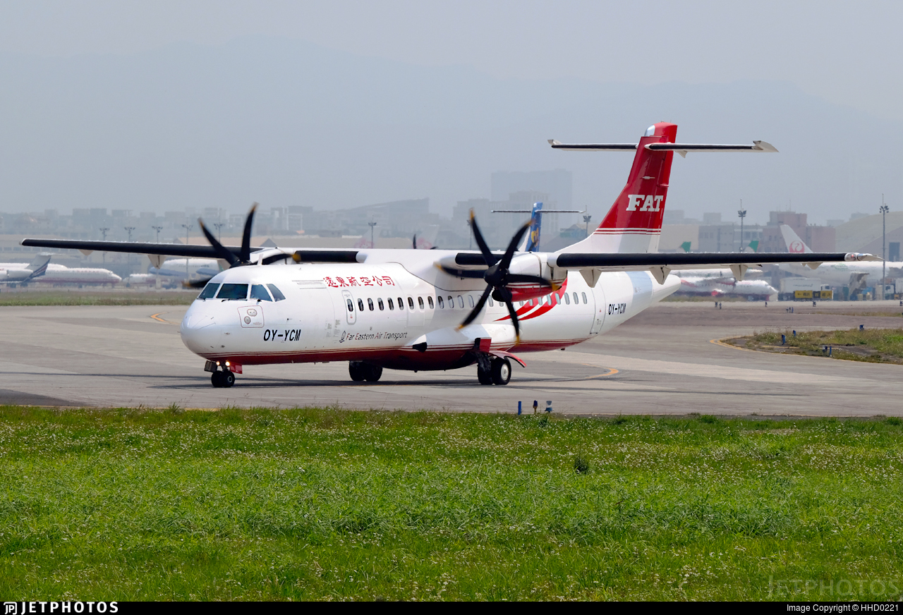 OY-YCM - ATR 72-212A(600) - Far Eastern Air Transport (FAT)