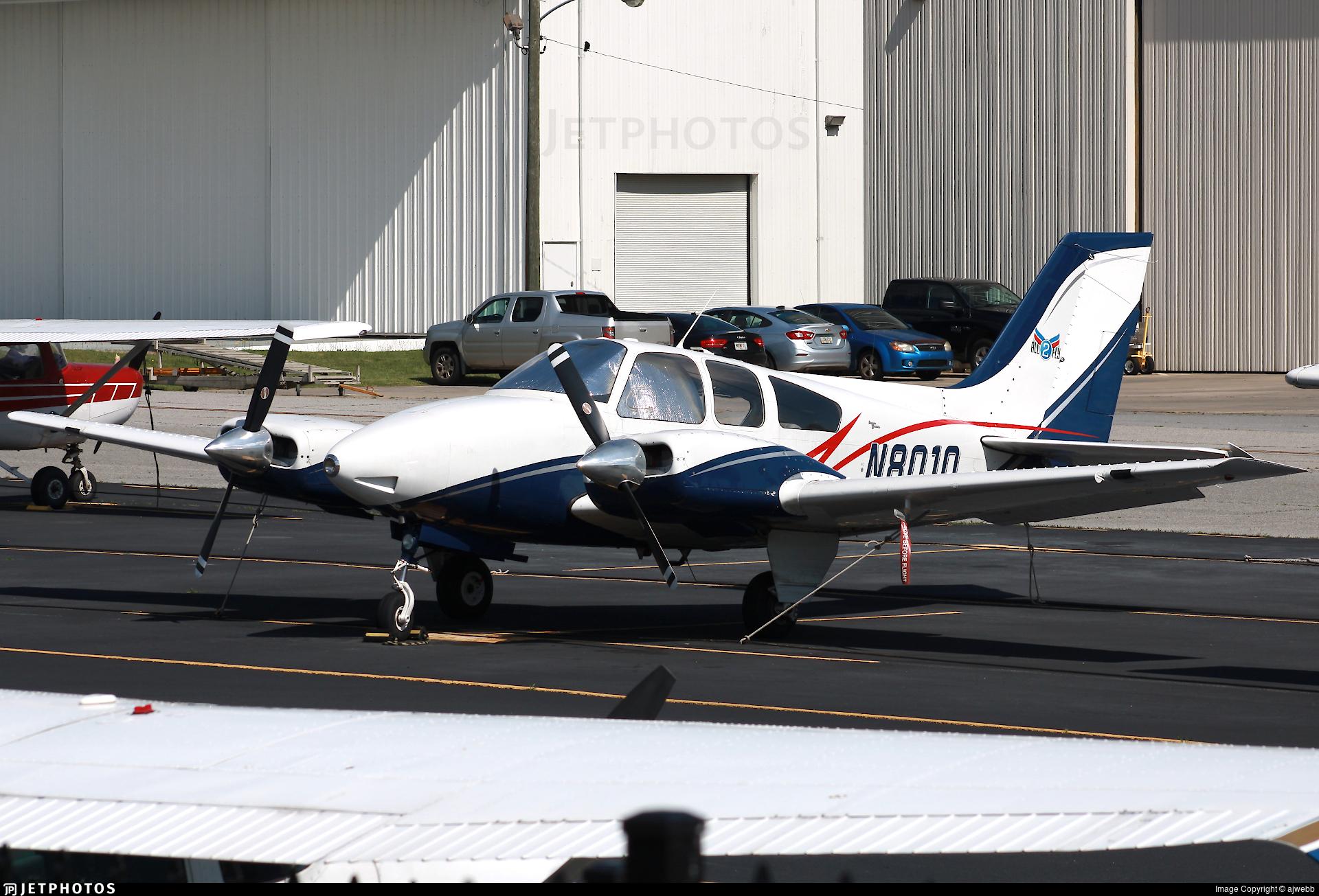 N801Q - Beechcraft 95-B55 Baron - ALL2FLY Aviation Academy