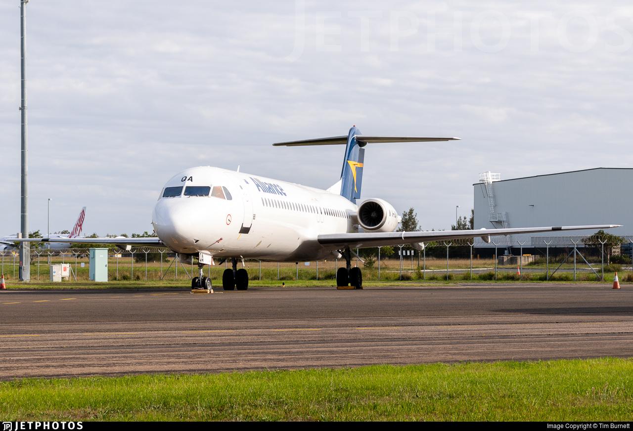 VH-UQA - Fokker 100 - Alliance Airlines