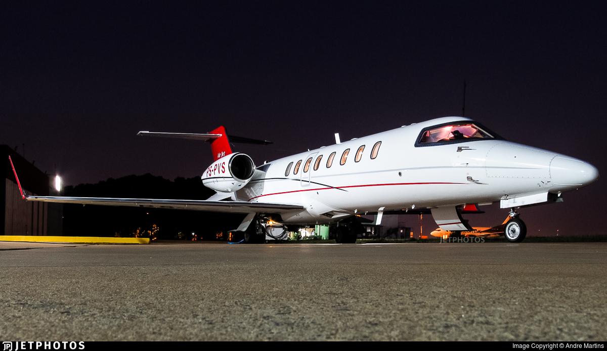 PS-PVS - Bombardier Learjet 45 - Airjet