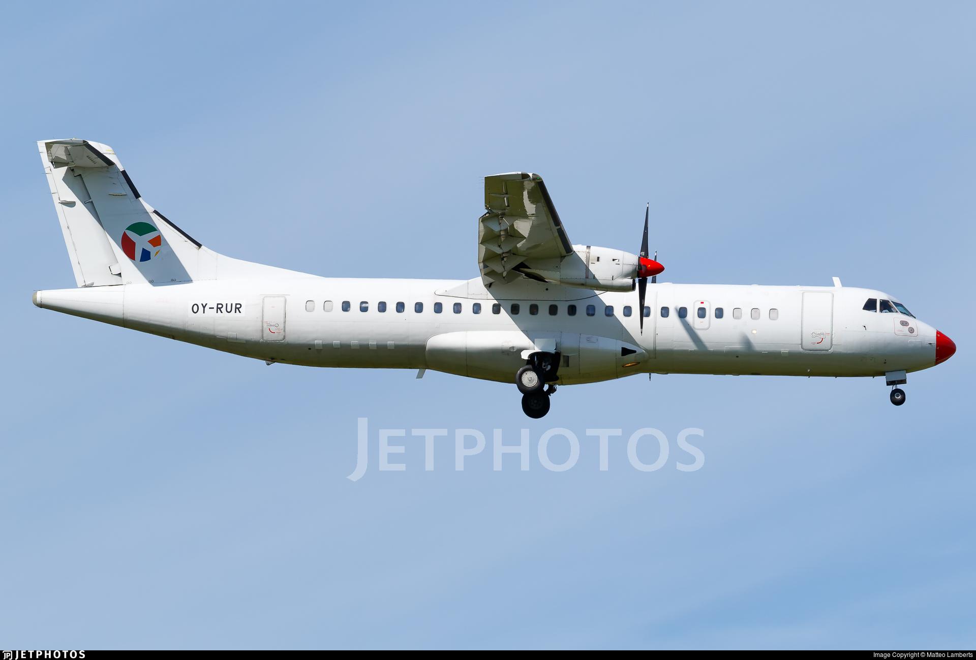 OY-RUR - ATR 72-201 - Danish Air Transport (DAT)