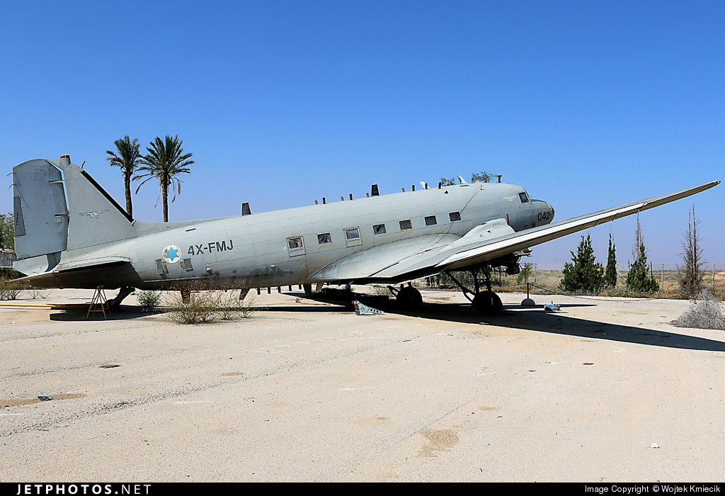 4X-FMJ - Douglas C-47B Skytrain - Israel - Air Force