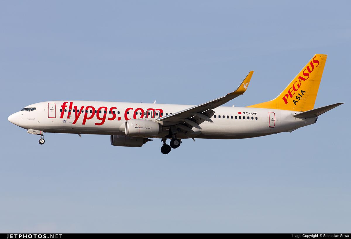 TC-AVP - Boeing 737-82R - Pegasus Airlines Asia