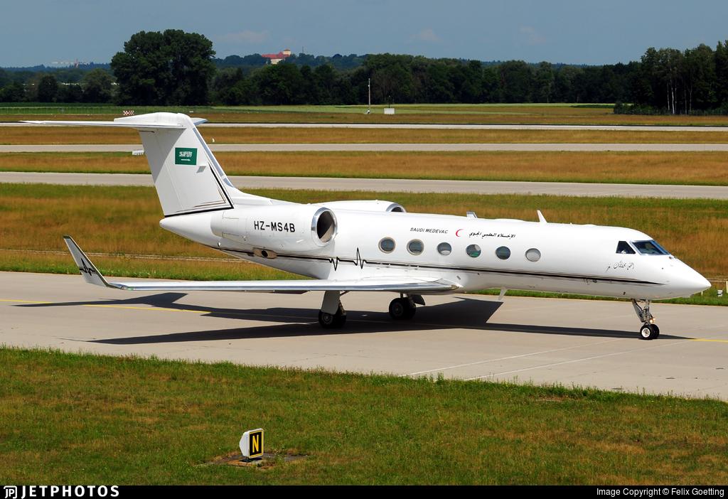 HZ-MS4B - Gulfstream G450 - Saudi Arabia - Aeromedical Evacuation