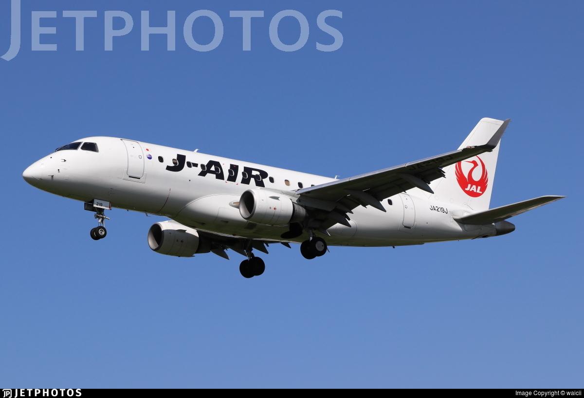 JA219J - Embraer 170-100STD - J-Air