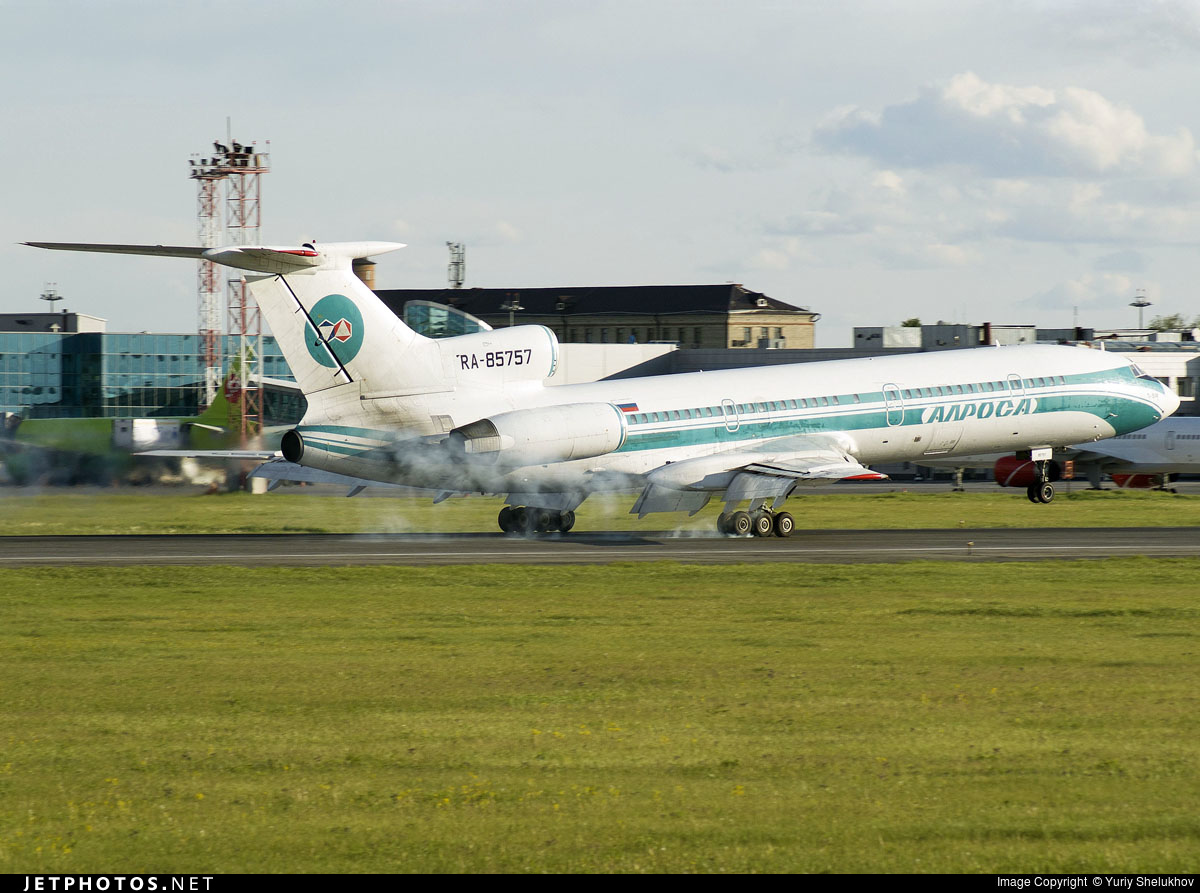 RA-85757 - Tupolev Tu-154M - Alrosa Airlines