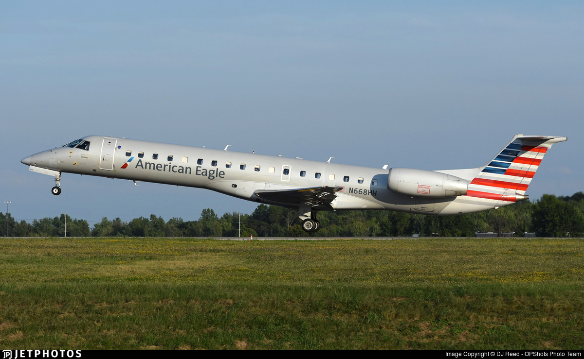 N668HH - Embraer ERJ-145LR - American Eagle (Envoy Air)