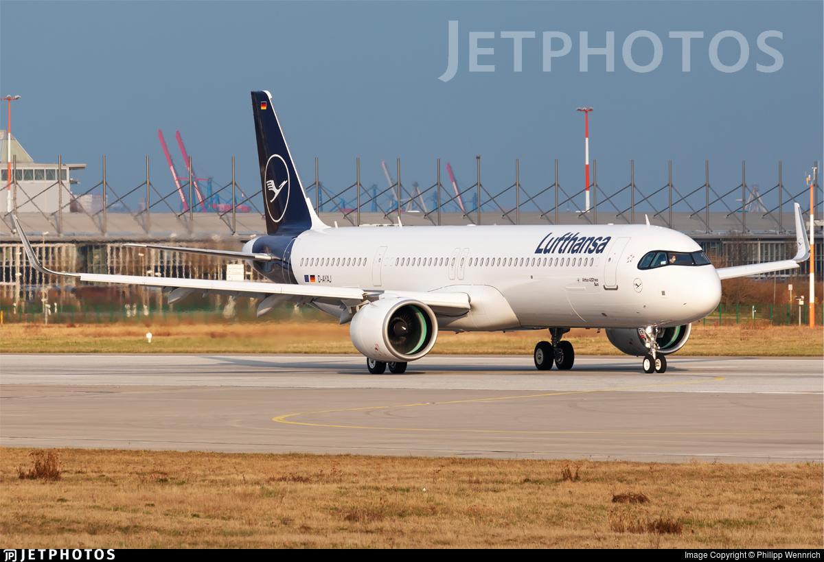 D-AYAJ - Airbus A321-271NX - Lufthansa