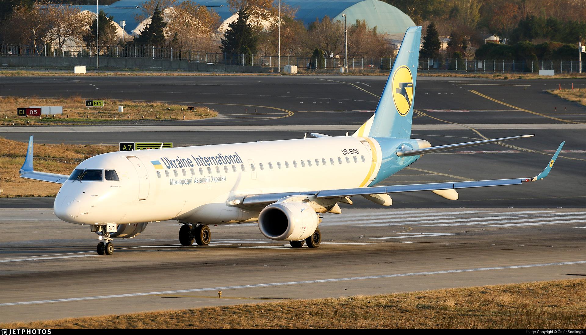 UR-EMB - Embraer 190-100STD - Ukraine International Airlines
