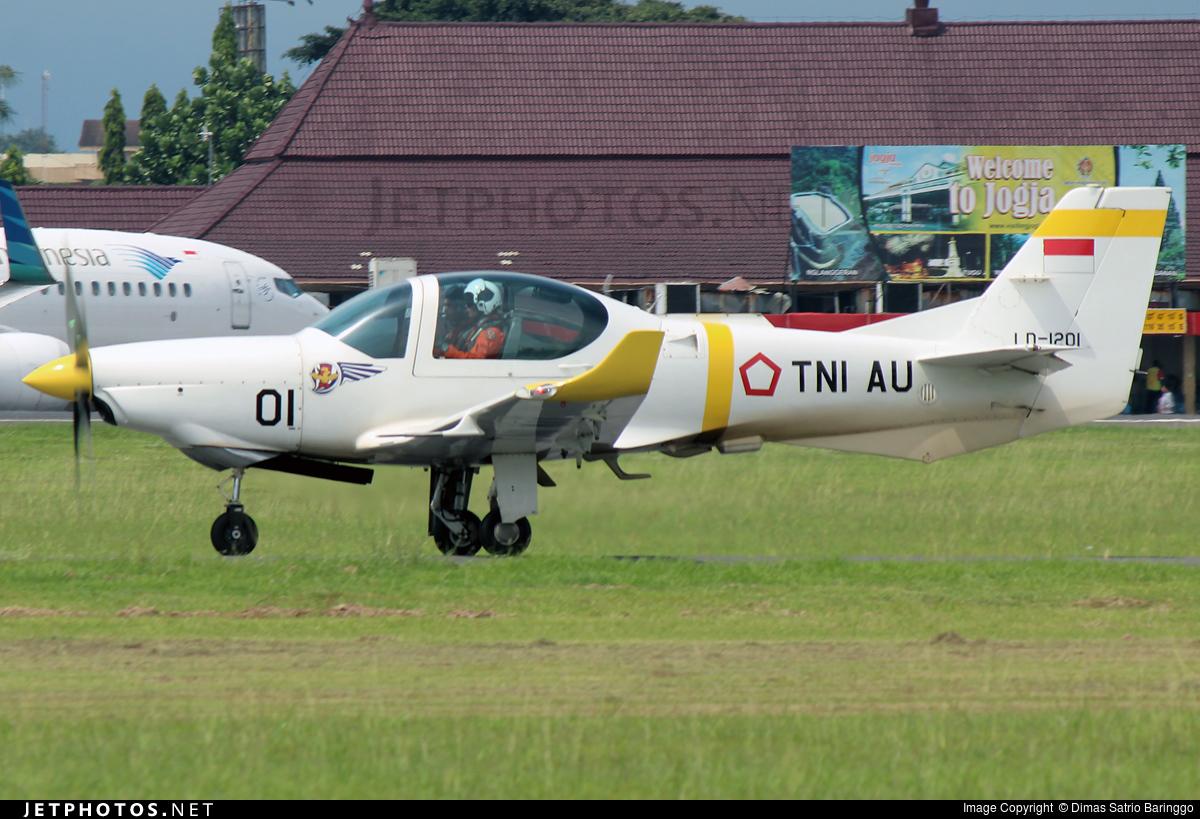 LD-1201 - Grob G120TP - Indonesia - Air Force