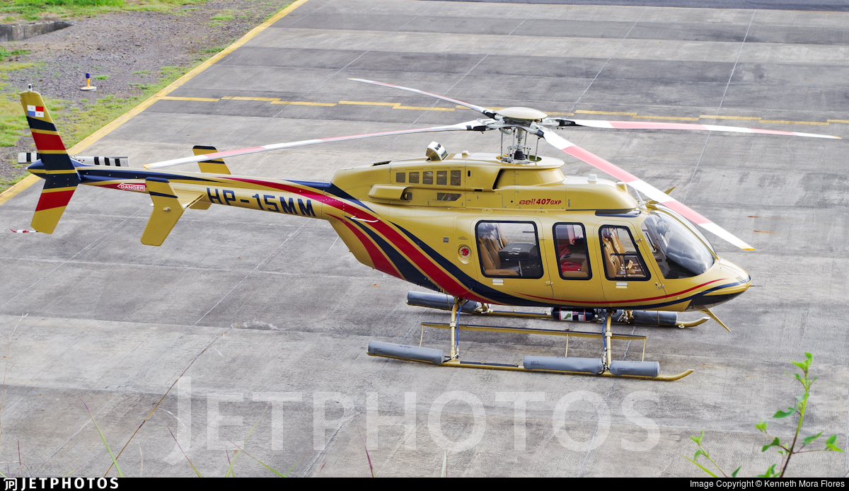 HP-15MM - Bell 407GXP - Private