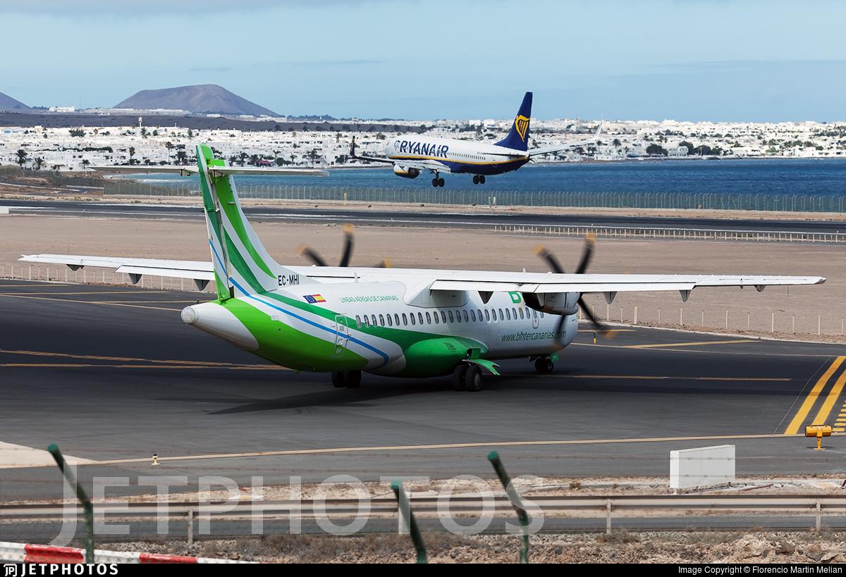 EC-MHI - ATR 72-212A(500) - Binter Canarias (Naysa)