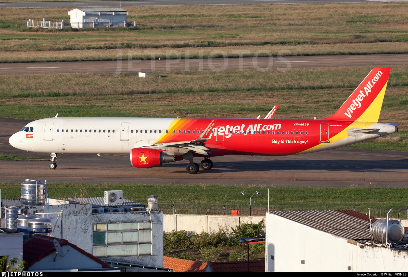 VN-A639 - Airbus A321-211 - VietJet Air