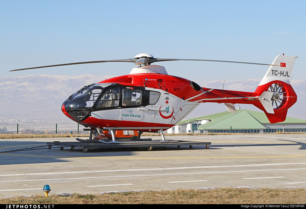 TC-HJL - Eurocopter EC 135P2+ - Turkey - Ministry of Health