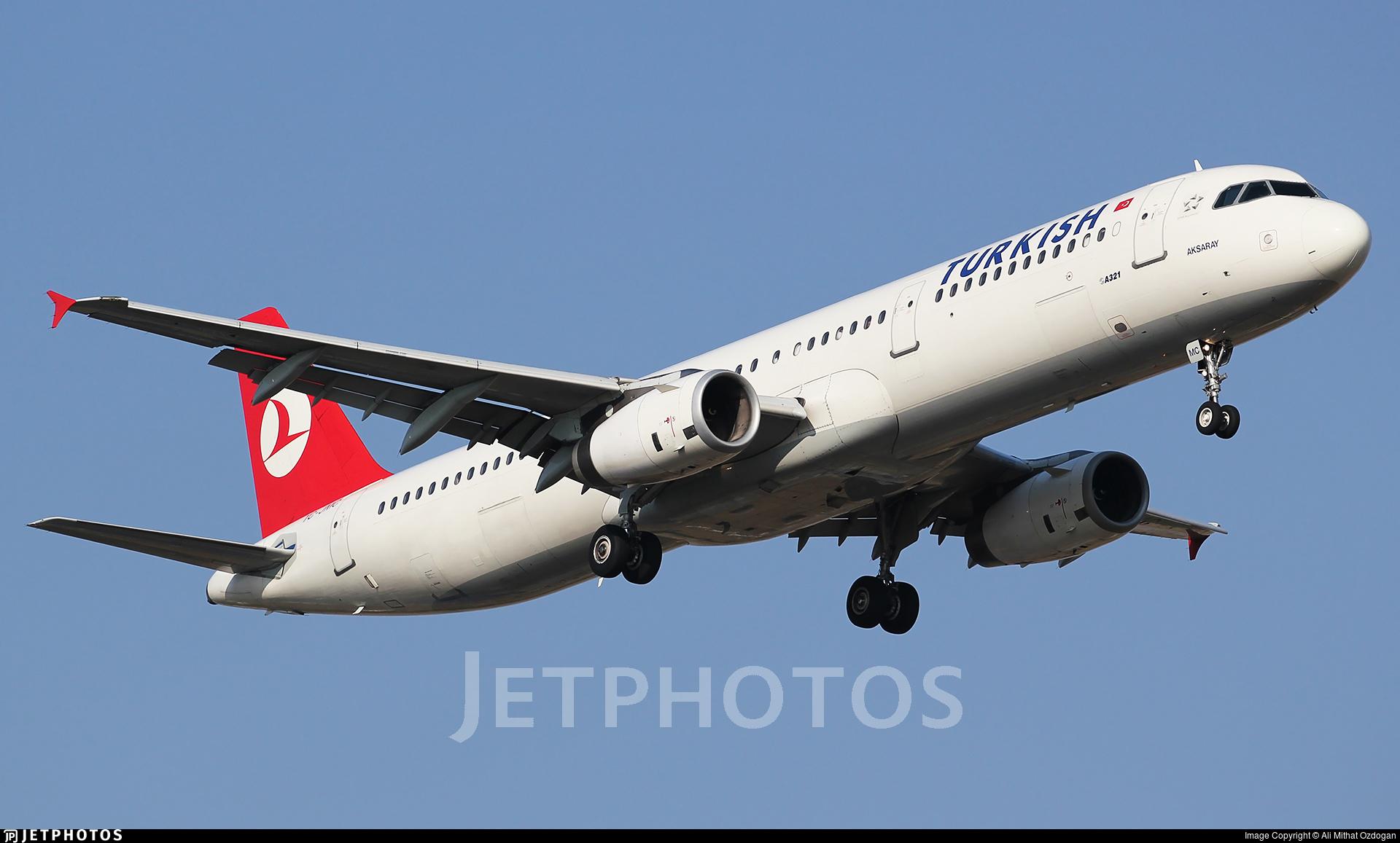 TC-JMC - Airbus A321-231 - Turkish Airlines