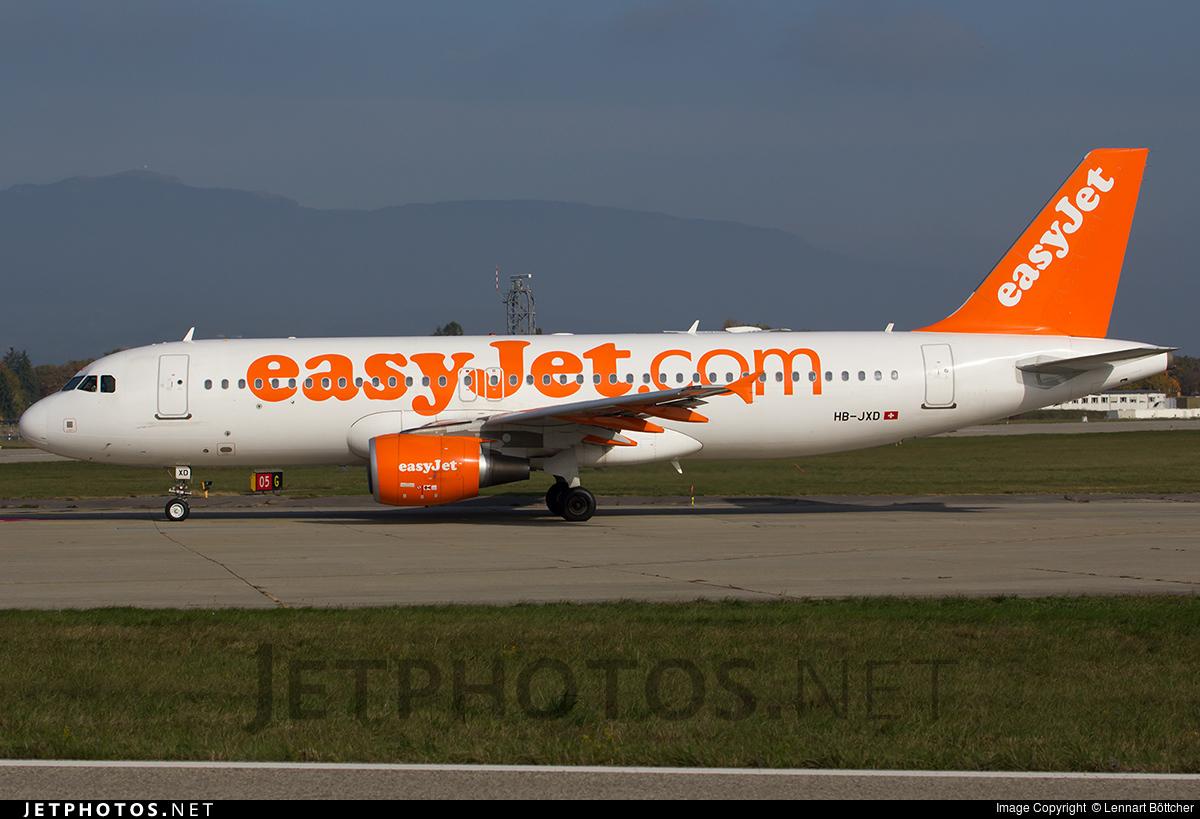 HB-JXD - Airbus A320-214 - easyJet Switzerland