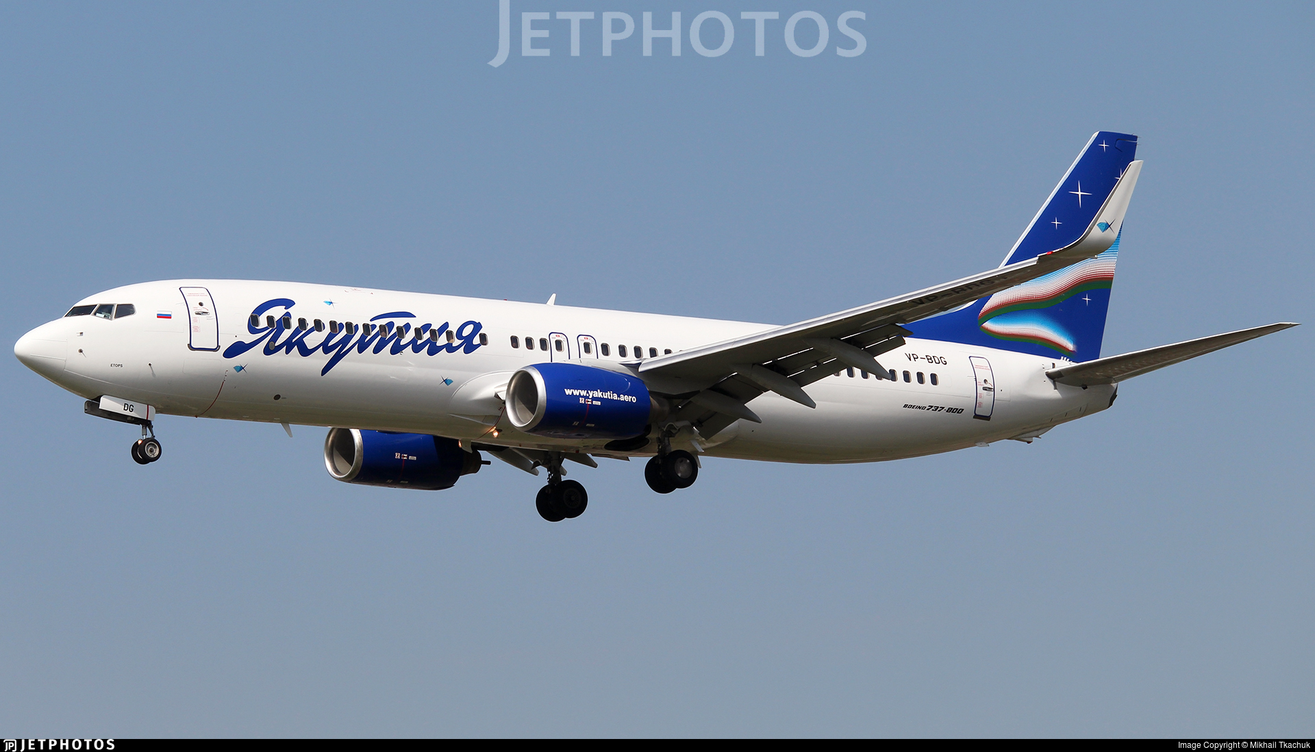 VP-BDG - Boeing 737-8Q8 - Yakutia Airlines