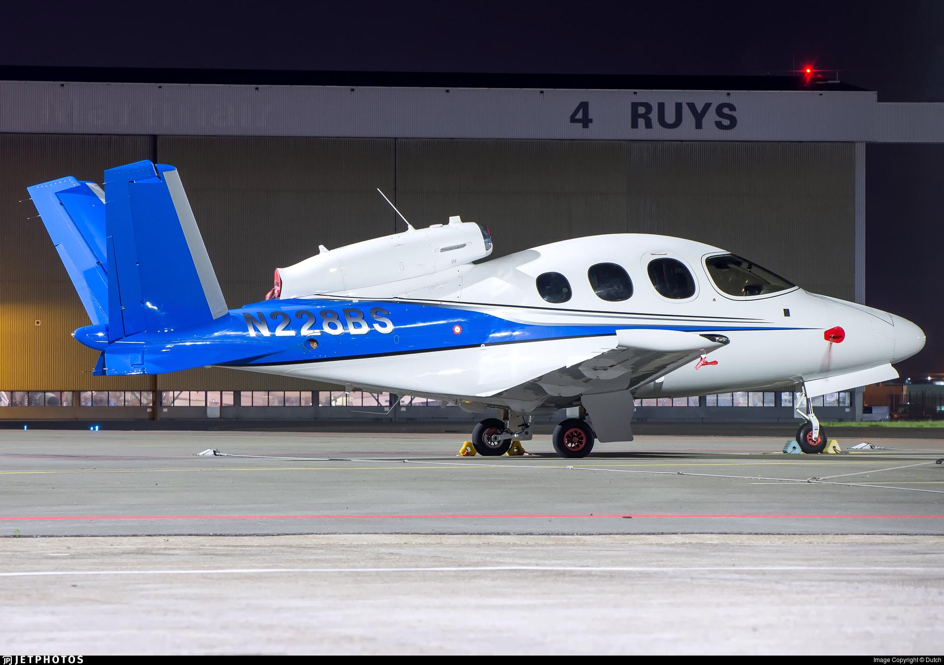 N228BS - Cirrus Vision SF50 - Private