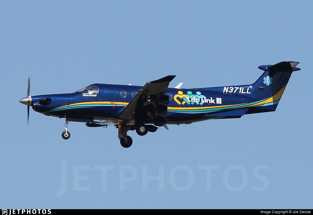 N371LL - Pilatus PC-12/47E - Critical Care Services