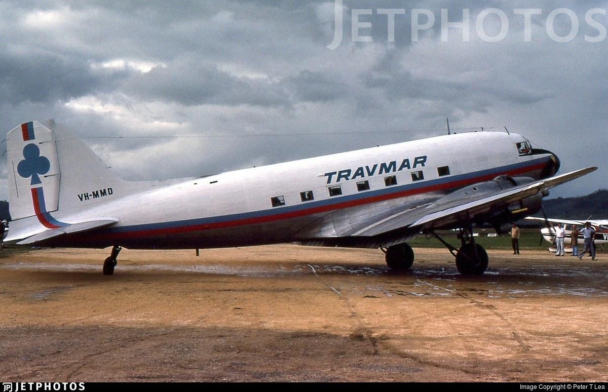 VH-MMD - Douglas DC-3 - Travmar