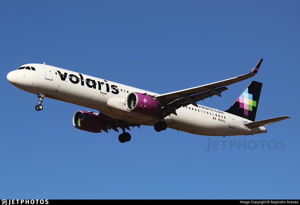N543VL - Airbus A321-271N - Volaris