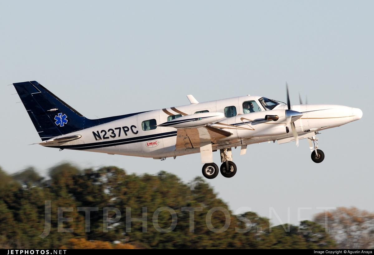 N237PC - Piper PA-31T Cheyenne II XL - Private