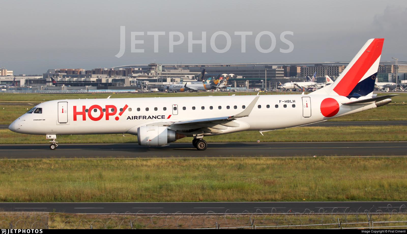 F-HBLH - Embraer 190-100LR - HOP! for Air France