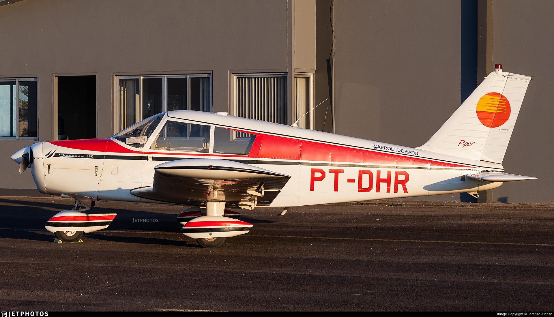 PT-DHR - Piper PA-28-140 Cherokee - Aero Club - Eldorado do Sul