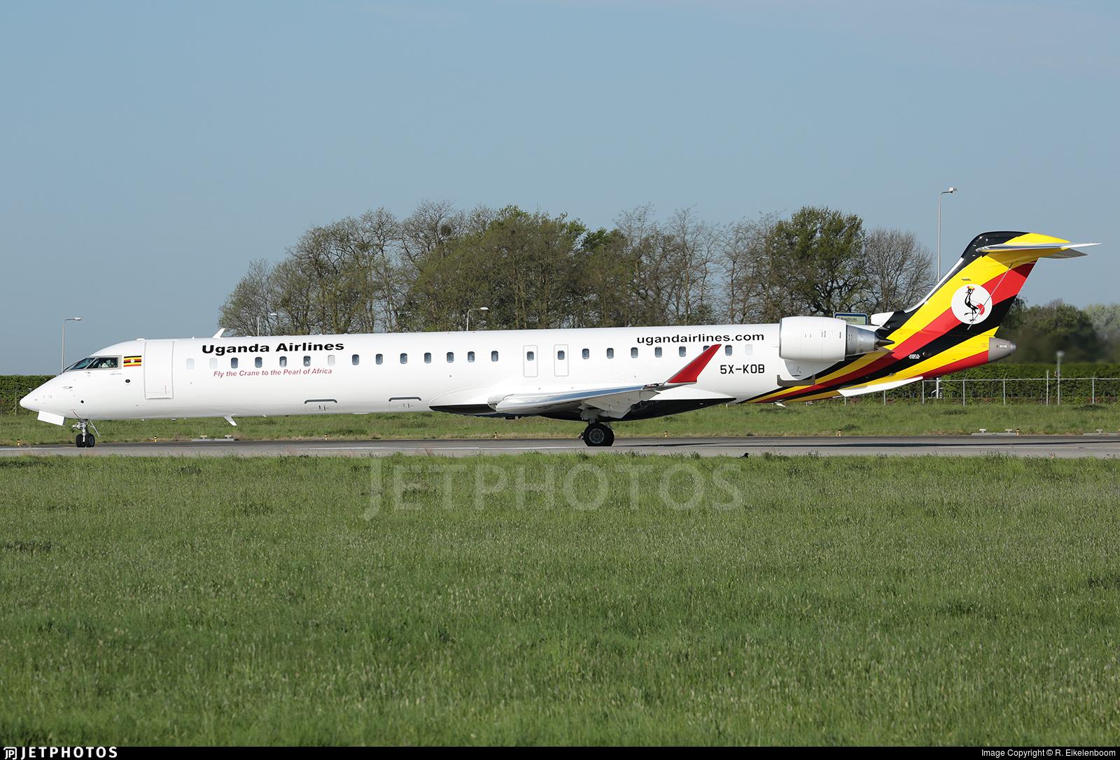 5X-KOB - Bombardier CRJ-900 - Uganda Airlines