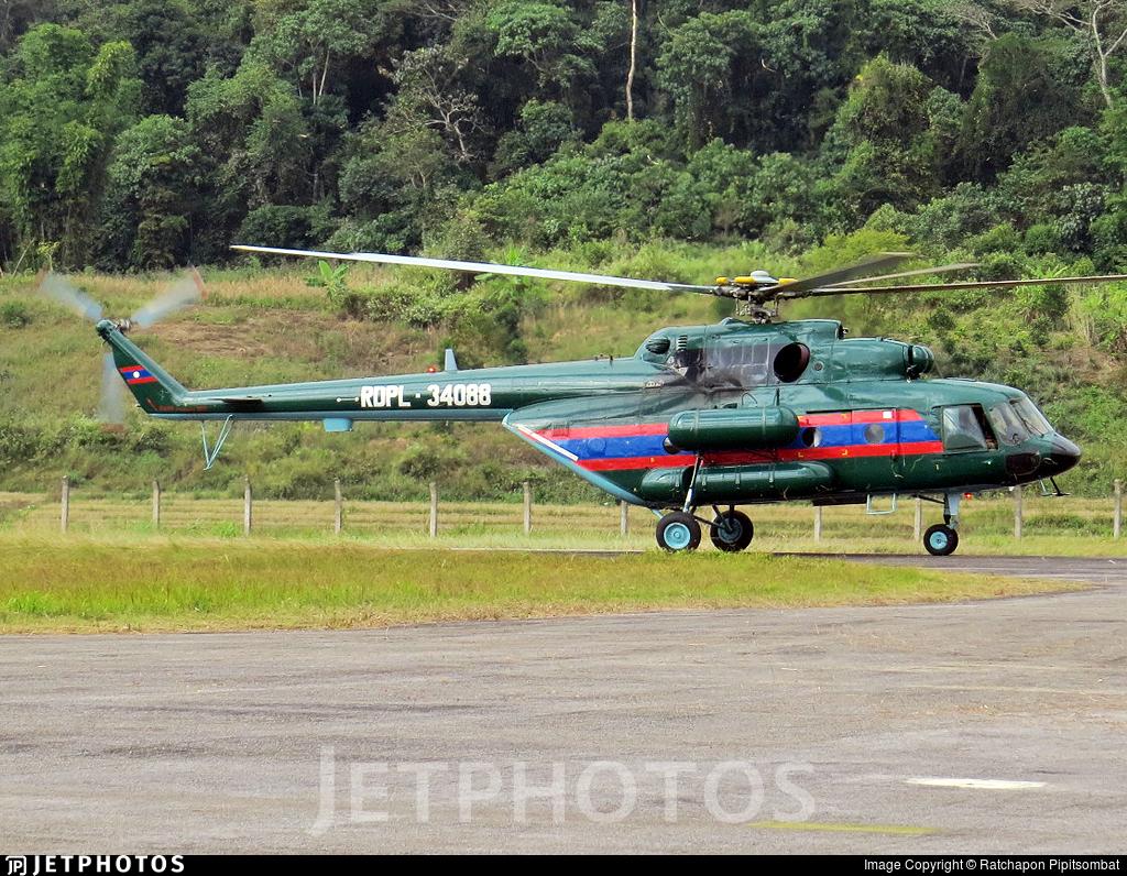 RDPL-34088 - Mil Mi-17V5 Hip H - Laos - Air Force