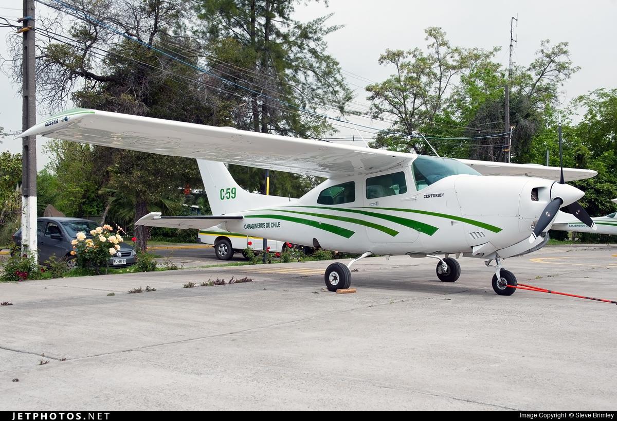 C-59 - Cessna 210N Centurion II - Chile - Police
