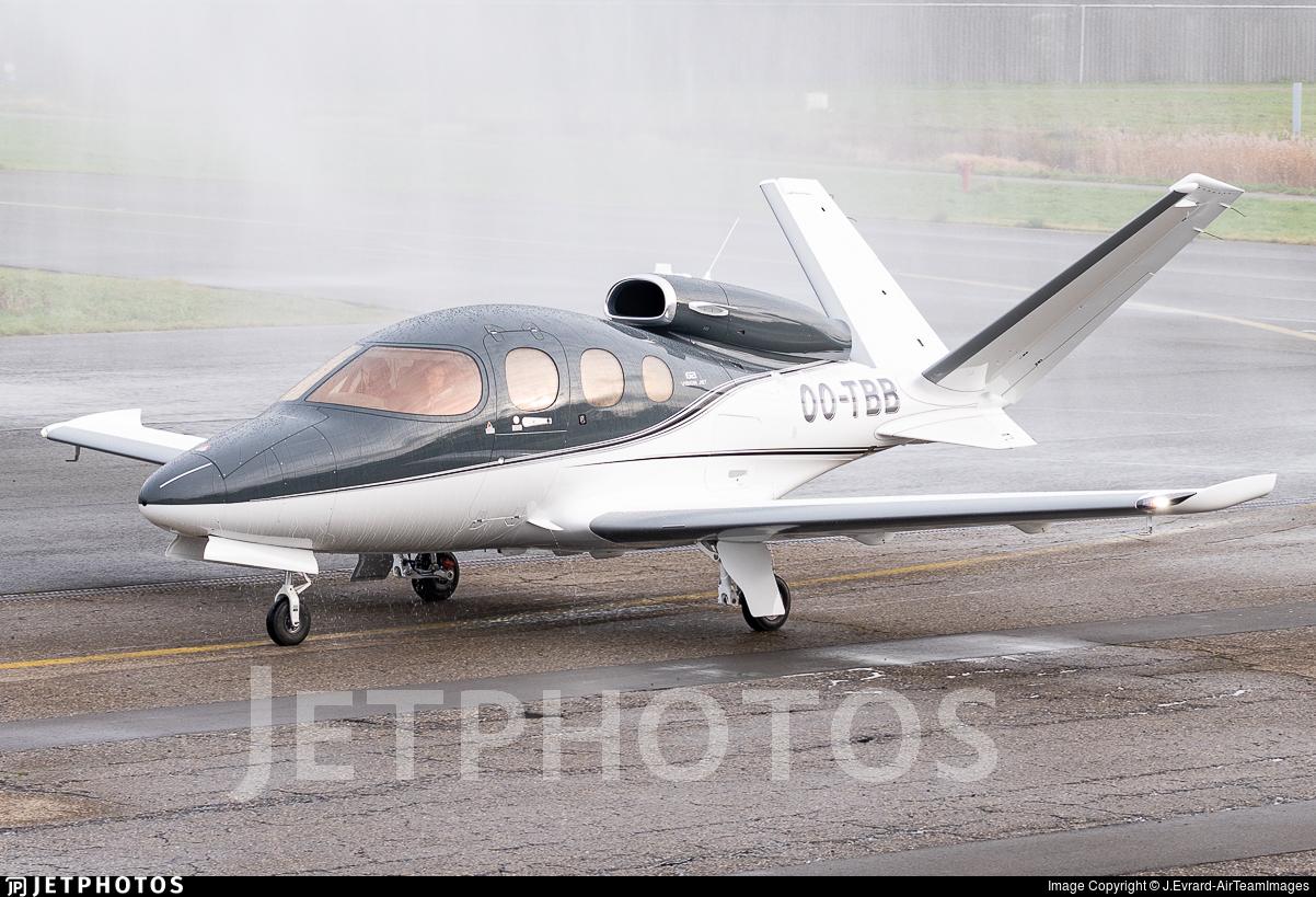 OO-TBB - Cirrus Vision SF50 G2 - Private